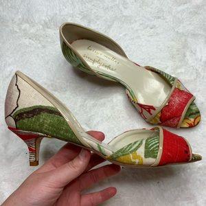 Bettye Muller Simply Soles Open Toe Heels Size 36